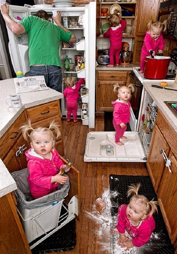 Những bức ảnh cha và con gái nhỏ cực đáng yêu 18
