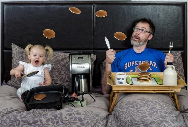 Những bức ảnh cha và con gái nhỏ cực đáng yêu 3