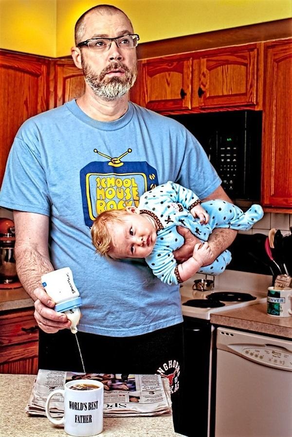 Những bức ảnh cha và con gái nhỏ cực đáng yêu 4