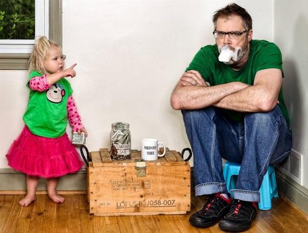 Những bức ảnh cha và con gái nhỏ cực đáng yêu 6