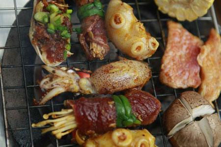 5 quán nướng ngon rẻ ở Hà Nội - Quán nướng 5 trong 1