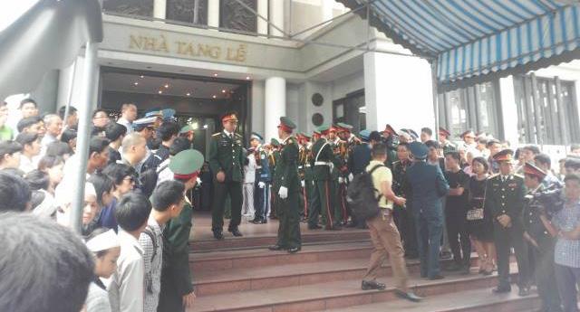 Nghẹn ngào tang lễ 18 người lính hy sinh trong tai nạn máy bay 38