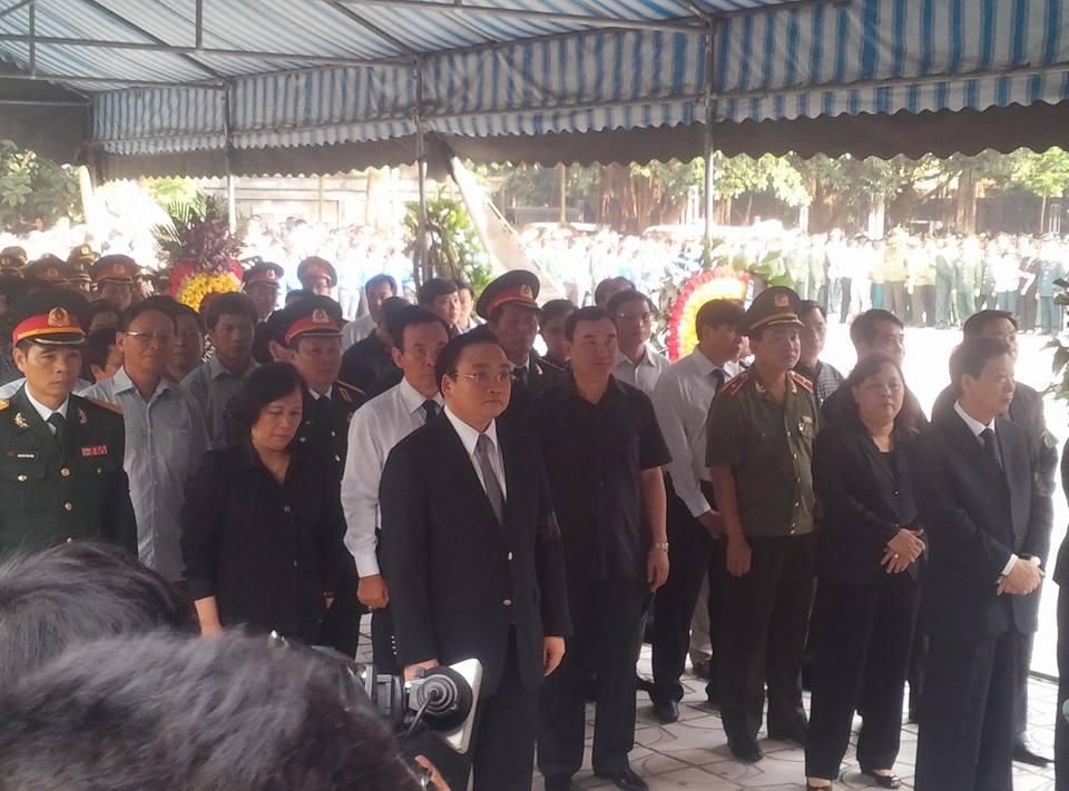Nghẹn ngào tang lễ 18 người lính hy sinh trong tai nạn máy bay 6