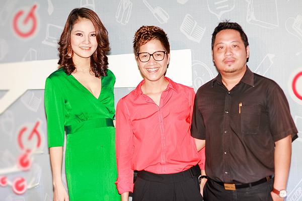 Chồng HH Trần Thị Quỳnh lần đầu đi tiệc với vợ 2