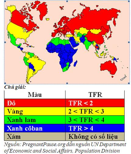 Mức sinh thấp - Tác động và kinh nghiệm các nước trên thế giới  2