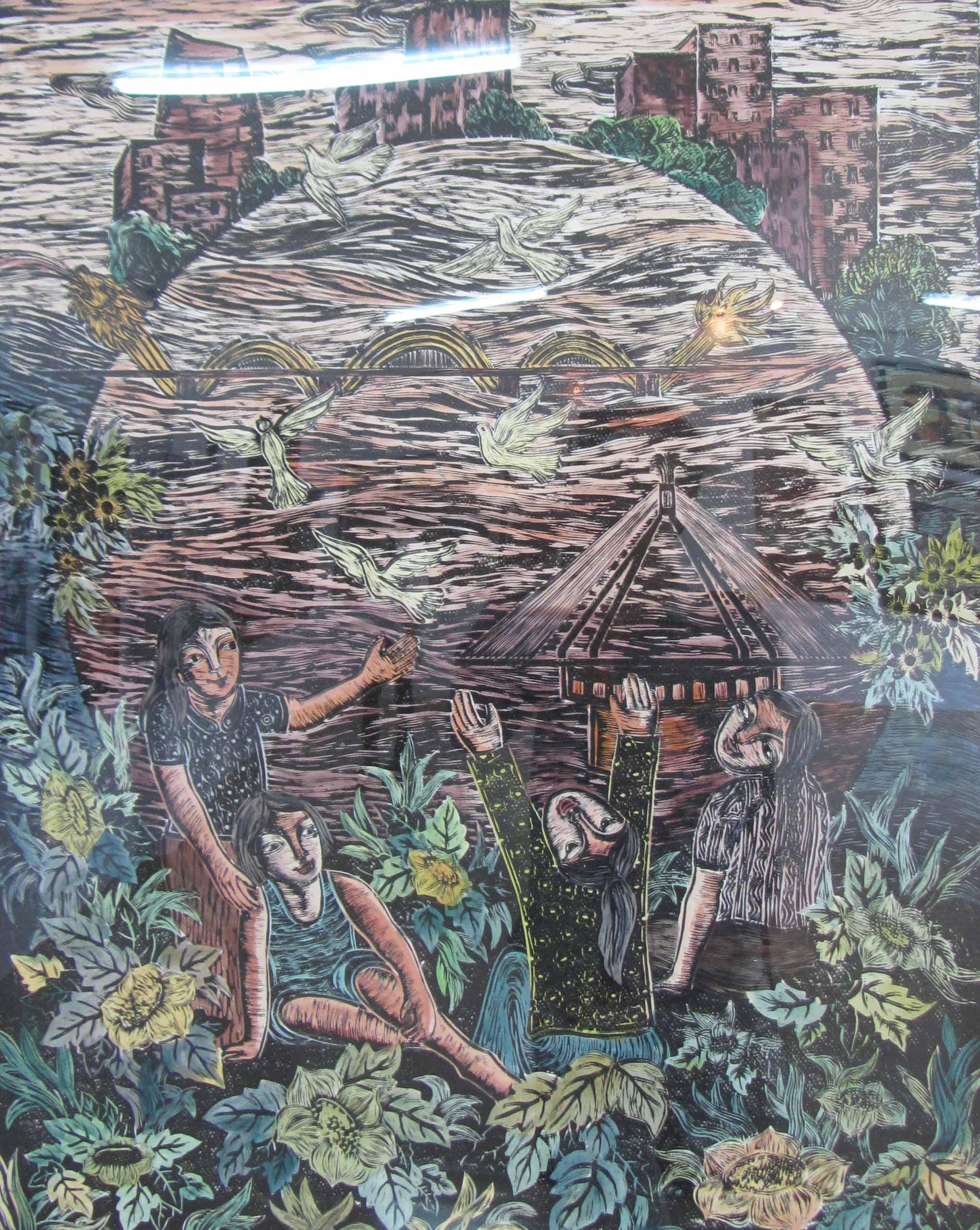 Cận cảnh các tuyệt phẩm mỹ thuật miền Trung & Tây Nguyên 18
