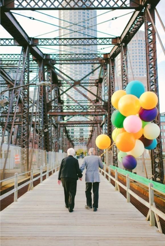 Bộ ảnh kỷ niệm 61 năm tình yêu của cặp vợ chồng ngoại bát tuần 11