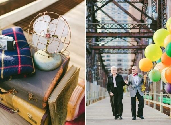 Bộ ảnh kỷ niệm 61 năm tình yêu của cặp vợ chồng ngoại bát tuần 1