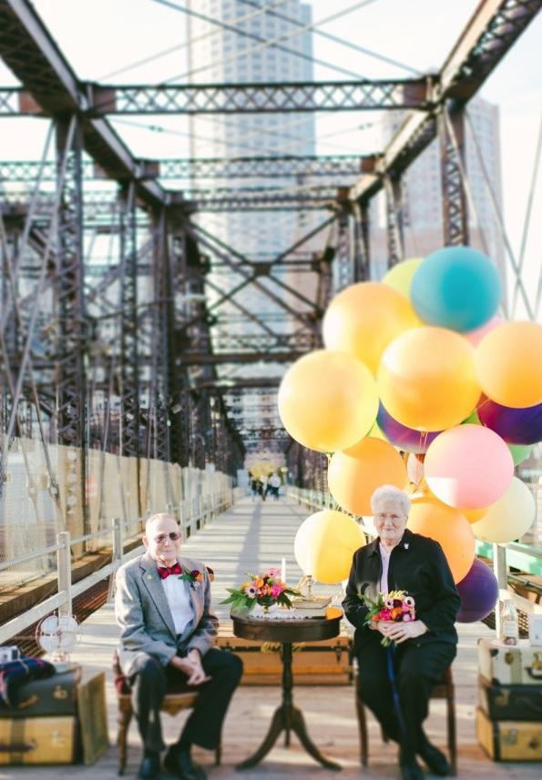 Bộ ảnh kỷ niệm 61 năm tình yêu của cặp vợ chồng ngoại bát tuần 6