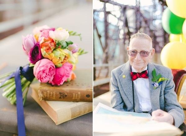 Bộ ảnh kỷ niệm 61 năm tình yêu của cặp vợ chồng ngoại bát tuần 7