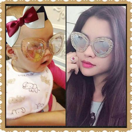Vẻ đẹp lạ của các em bé con lai nhà sao Việt 8