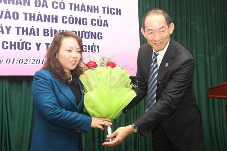 Báo Gia đình&Xã hội nhận Bằng khen của Bộ trưởng Bộ Y tế  1