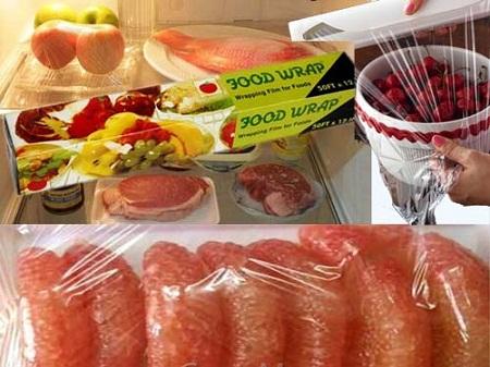 Cách chọn và sử dụng màng bọc thực phẩm tránh độc 1