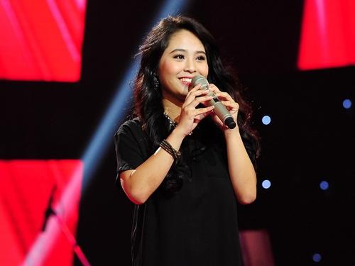 Kiều Anh là cái tên gây sốt The Voice từ đêm thi đầu tiên.