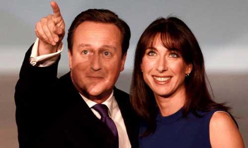 Thủ tướng Anh - David Cameron và phu nhân Samantha Cameron