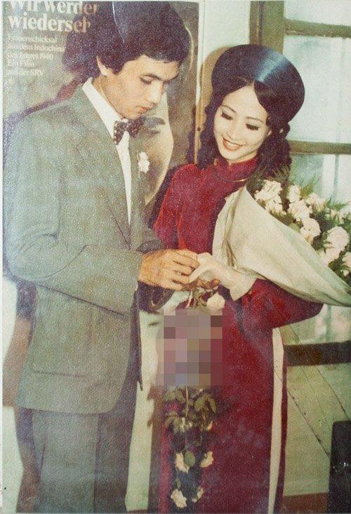 Ảnh cưới giản dị của NSND Như Quỳnh và nhiếp ảnh gia Hữu Bảo vào năm 1980
