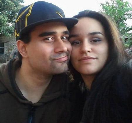 Derek Medina và vợ khi còn mặn nồng. Ảnh: Daily Mail