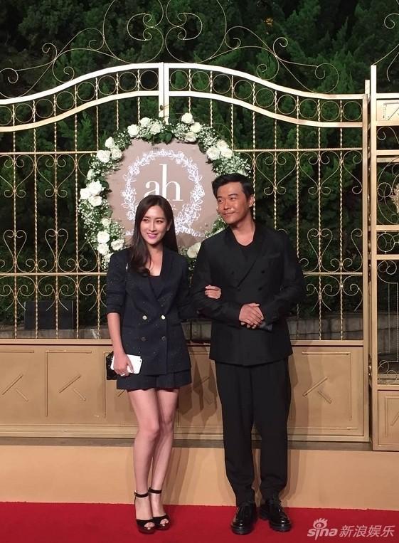 Nữ diễn viên Mã Tô và Trần Tư Thành.