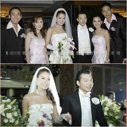 Ảnh cưới của cặp vợ chồng nổi tiếng Trương Ngọc Ánh và Trần Bảo Sơn. Tuy nhiên, hiện tại cặp đôi đẹp nhất làng giải trí đã chia tay