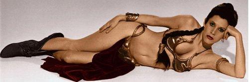 Hình ảnh gợi cảm trong Star Wars khiến Carrie Fisher không thấy hạnh phúc