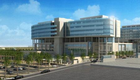 Bệnh viện nhi đồng King Abduallah Hospital ở thủ đô Riyadh, Ả Rập Saudi, nơi cậu bé đang được điều trị.