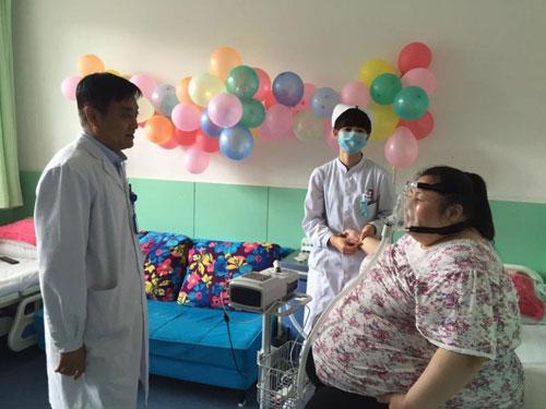 Wei chấp nhận phẫu thuật cắt bỏ một phần dạ dày để tránh thu nạp quá nhiều thức ăn