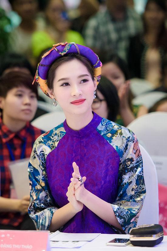 Đặng Thu Thảo cho biết, cô rất yêu mến đất nước, con người Nhật Bản. Khi được mời dự sự kiện do Trung tâm giao lưu văn hóa Nhật tại Việt Nam tổ chức, cô liền sắp xếp lịch công việc và học tập để dự.