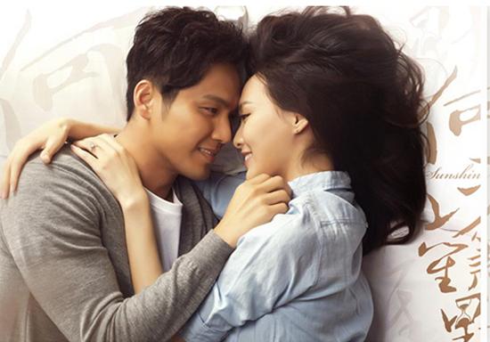 Chung Hán Lương và Mặc Sênh trong Bên nhau trọn đời.