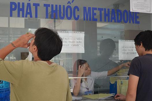 Theo thống kê, hiện nay trên cả nước có khoảng gần 80.000 người nghiện ma túy cần được điều trị cai nghiện bằng Methadone. Ảnh: Vũ Thủy