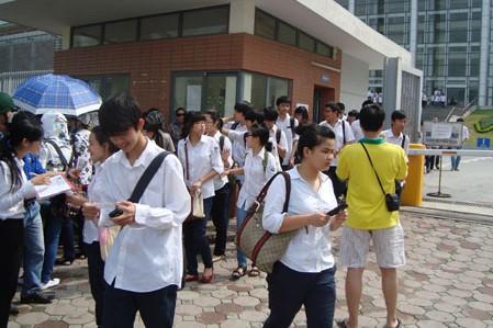 Kỳ thi THPT Quốc gia 2016 dự kiến thay đổi chính sách về cộng điểm học nghề.