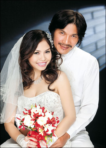 Công Ninh và vợ