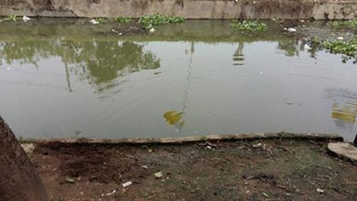 Con sông gần nhà nạn nhân