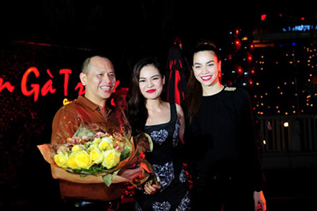Ông Nguyễn Quang Minh được nhiều nghệ sĩ trong làng giải trí ngưỡng mộ, nể phục.