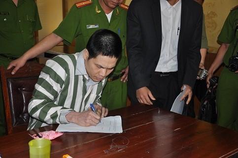 Bị án Nguyễn Thanh Thùy.