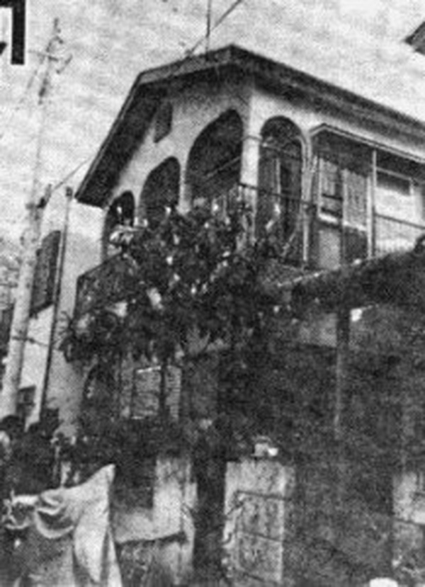 Toàn cảnh ngôi nhà giam giữ nữ sinh Furuta suốt 44 ngày.