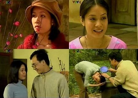 Cảnh trong phim Hoa đào ngày Tết