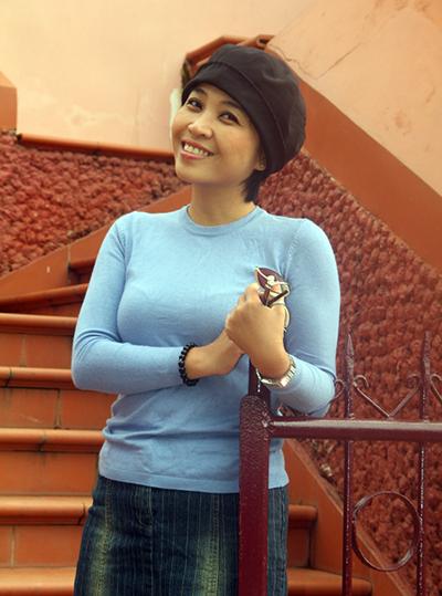 Tiến sĩ tâm lý Lê Thị Linh Trang. Ảnh: Lê Thanh Trung