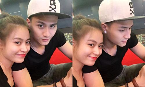 Hoàng Thùy Linh chia sẻ bức ảnh nép sát vào Vĩnh Thụy khi đi xem phim khiến fan cho rằng, cả hai đã chính thức công khai mối quan hệ sau thời gian hẹn hò.