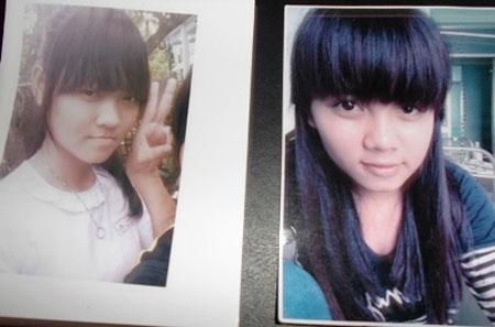 Hai nữ sinh gia đình trình báo bị mất tích
