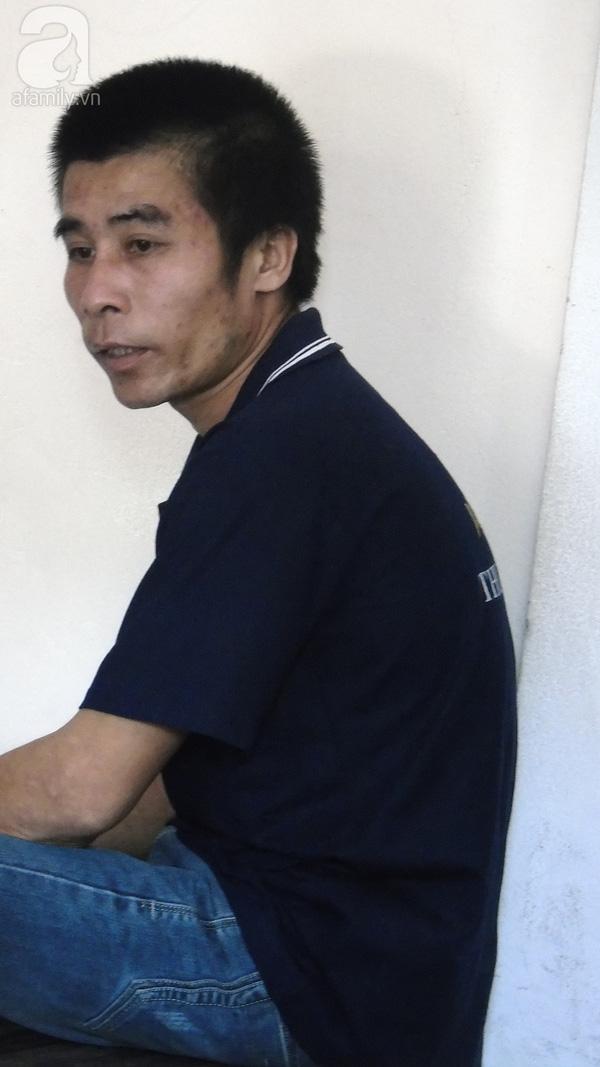Bị cáo Tùng ngày xét xử.