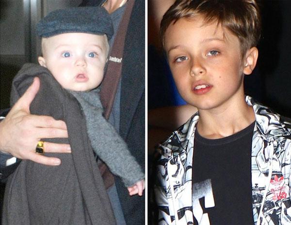 Knox là con trai út của Jolie-Pitt, cùng cô em song sinh Vivienne. Cậu bé vừa đón sinh nhật 8 tuổi vào ngày 12/7. Knox giống bố nhất trong số 3 người con đẻ của vợ chồng Jolie.