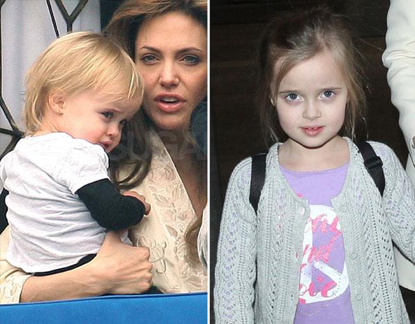 Cô út Vivienne lại khá giống mẹ. Tuy nhiên khác với chị gái Shiloh, Vivienne rất nữ tính và duyên dáng.