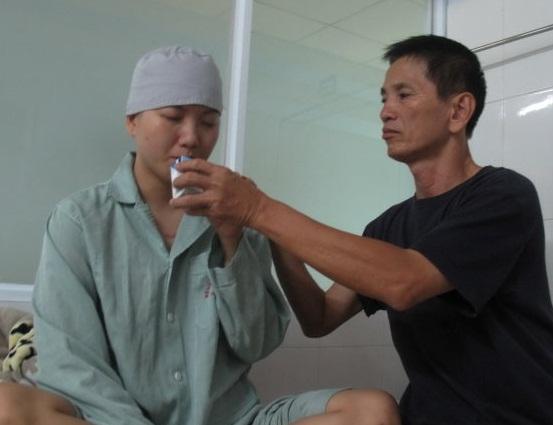 Thời gian Huyền Trang nằm tại viện chữa trị (ảnh nhân vật cung cấp)