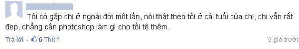 Bình luận của một người hâm mộ hoa hậu Giáng My.