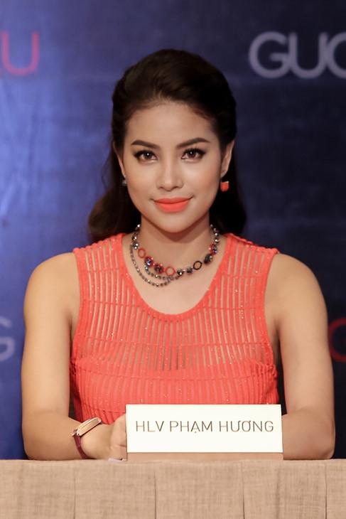 HLV Phạm Hương, nhân vật gây tranh cãi nhất tại The Face Việt Nam. Ảnh: TL