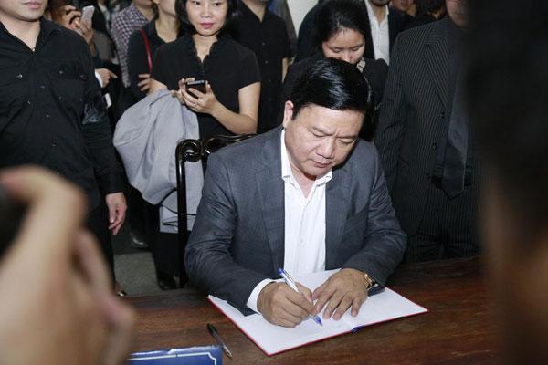Bí thư Đinh La Thăng đã viết những dòng cuối cho gia đình nhạc sĩ Trần Lập.