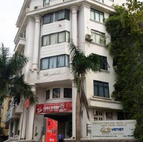 Trụ sở Công ty CP Liên minh tiêu dùng Việt Nam (ảnh tư liệu).