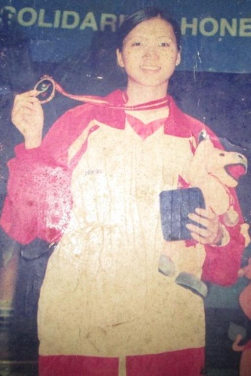 Chị Nguyễn Huyền Trang lúc 18 tuổi (ảnh nhân vật cung cấp)