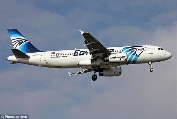 Chuyến bay MS804 của hãng EgyptAir bay từ Pháp đến Ai Cập được cho là đã bị rơi xuống biển sau khi biến mất khỏi radar.