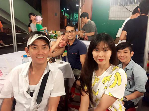 Minh Thuận và dàn diễn viên Thiên mệnh anh hùng.